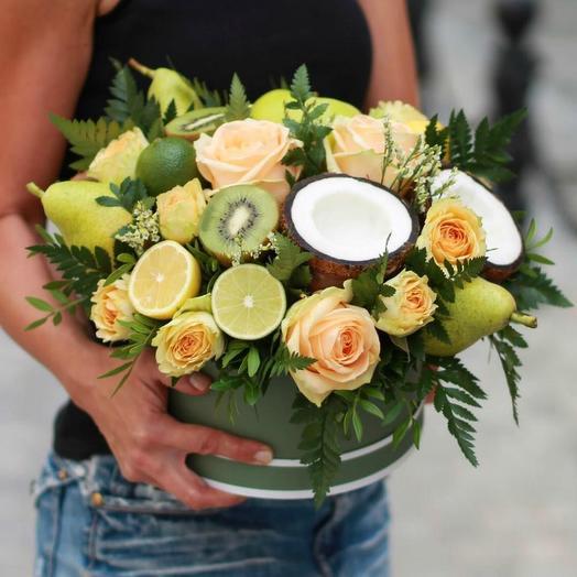 Цветы и фрукты 1