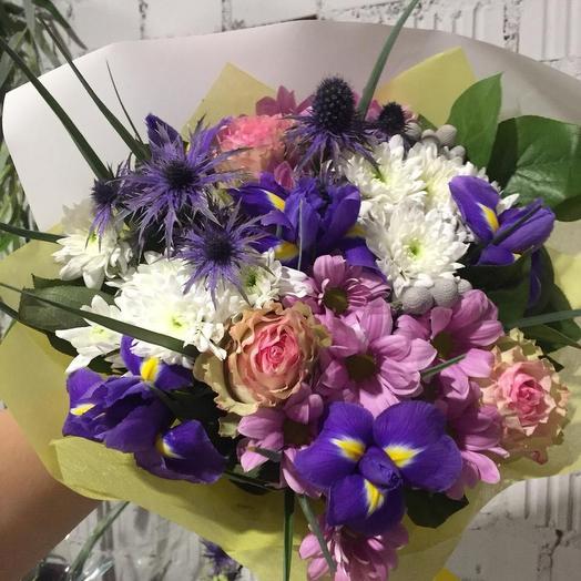 С характером: букеты цветов на заказ Flowwow