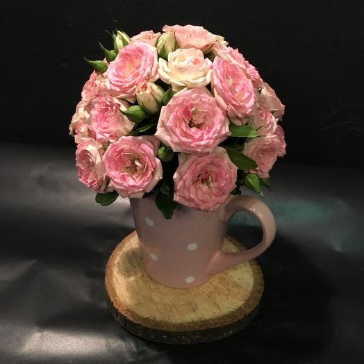 К чаю: букеты цветов на заказ Flowwow