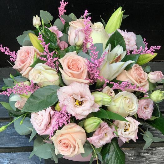 С любовь: букеты цветов на заказ Flowwow
