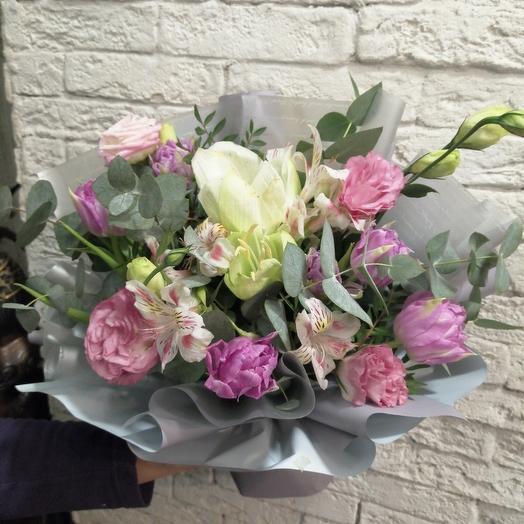 Нежный весенний букет: букеты цветов на заказ Flowwow