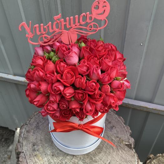 Улыбнись: букеты цветов на заказ Flowwow
