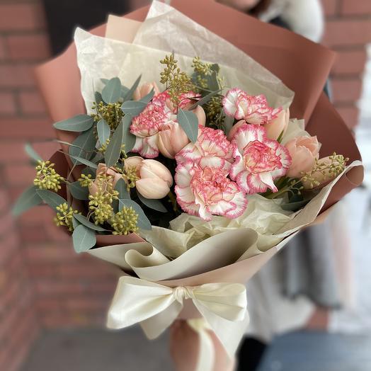 Нежность с тюльпанами 🌷