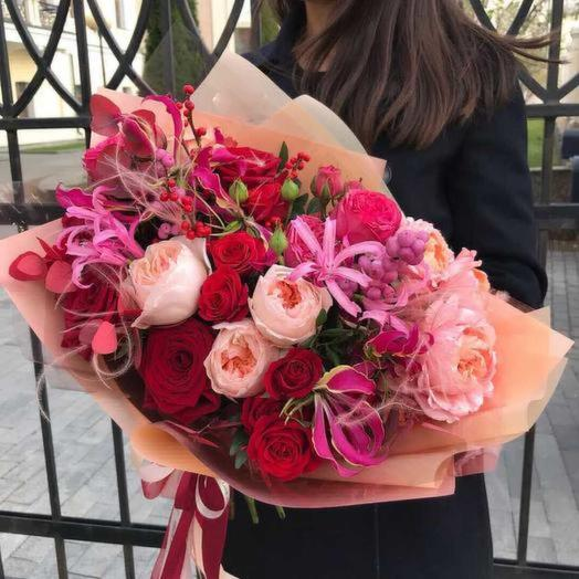 Джесика: букеты цветов на заказ Flowwow