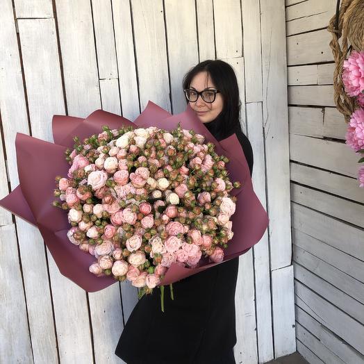 49 веток Розы Бомбастик
