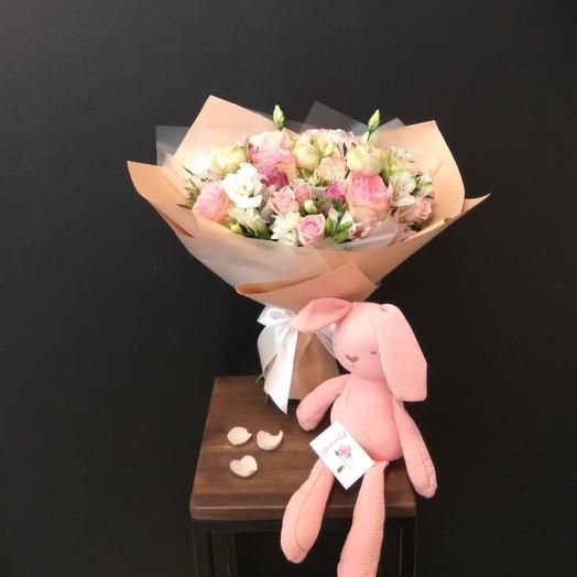 Для Барби: букеты цветов на заказ Flowwow