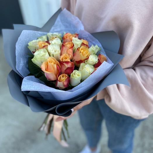 Букнт из кенийской розы