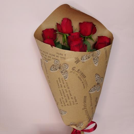 Набор Розы с конфетами