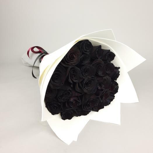 """Букет """"Черные розы"""""""