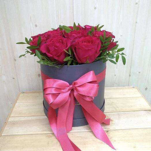 Коробочка 25 роз