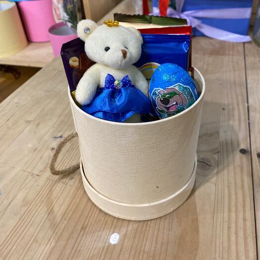 Мини коробка со сладким