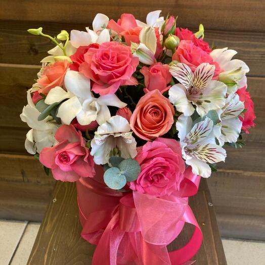 Цветы в коробка 1