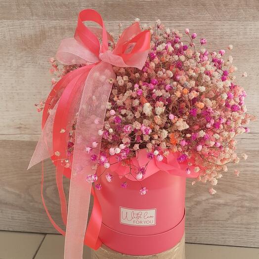 Цветы в коробке(Малинка)