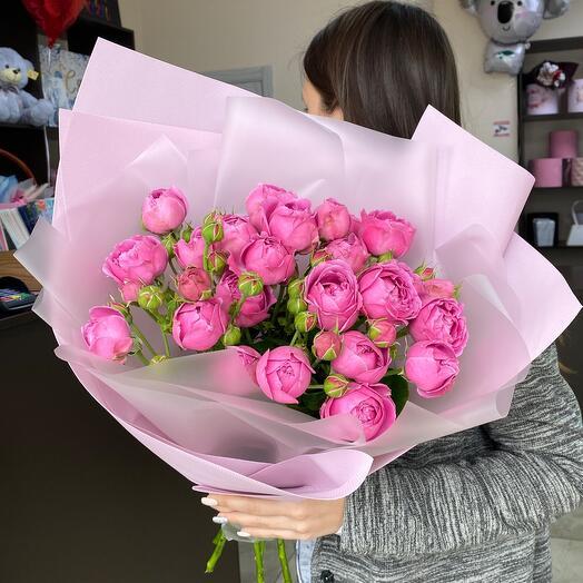 Ароматные пионовидные розы