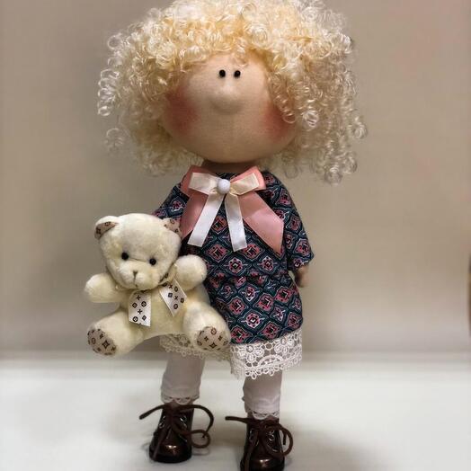 Кукла ручной работы Анна