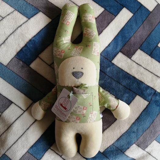 Дизайнерская игрушка VORONAYA TOYS BIG Зайчик 040504