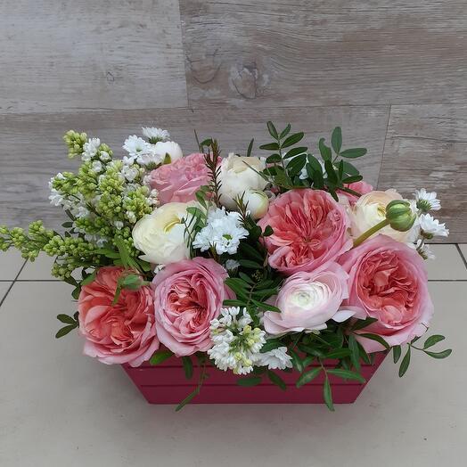 Цветы в коробке. Майский джаз
