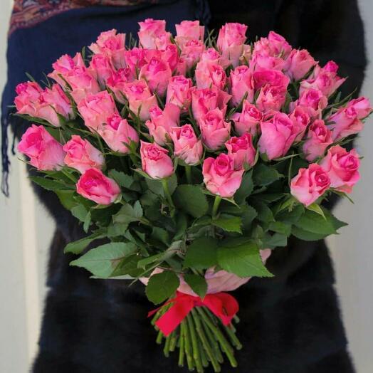 Букет роз Кения 51шт