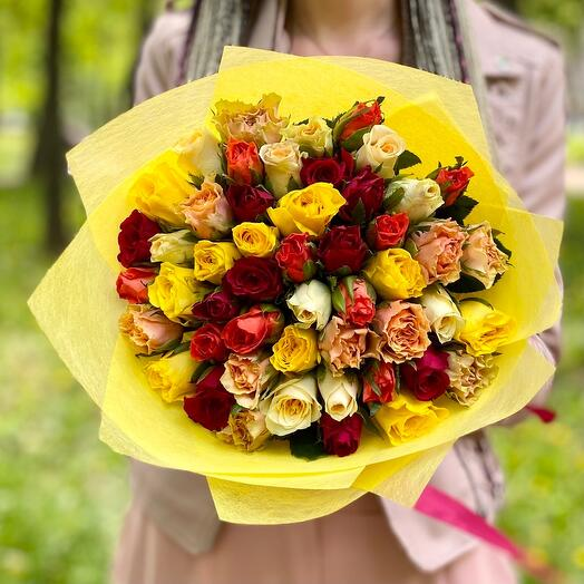 45 роза кения микс