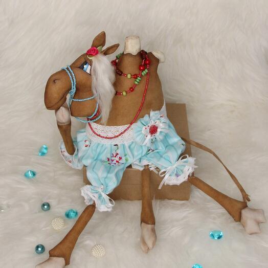 Интерьерная кукла. Верблюдик
