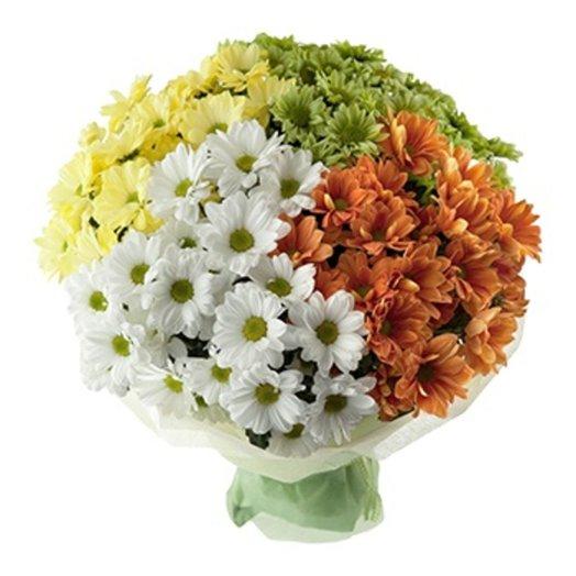БЦ-160103 Ромашки для моей Наташки!: букеты цветов на заказ Flowwow