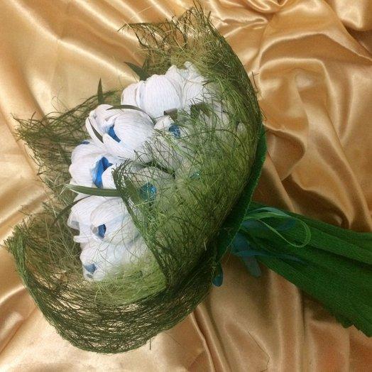 Букет из конфет Подснежники: букеты цветов на заказ Flowwow