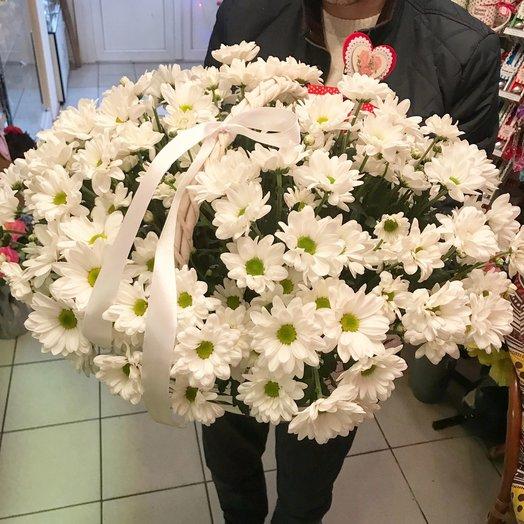 Ромашковое лукошко : букеты цветов на заказ Flowwow