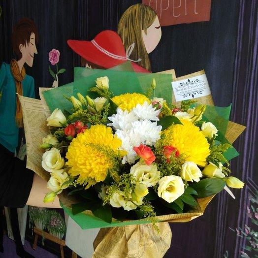 Осеннее счастье: букеты цветов на заказ Flowwow