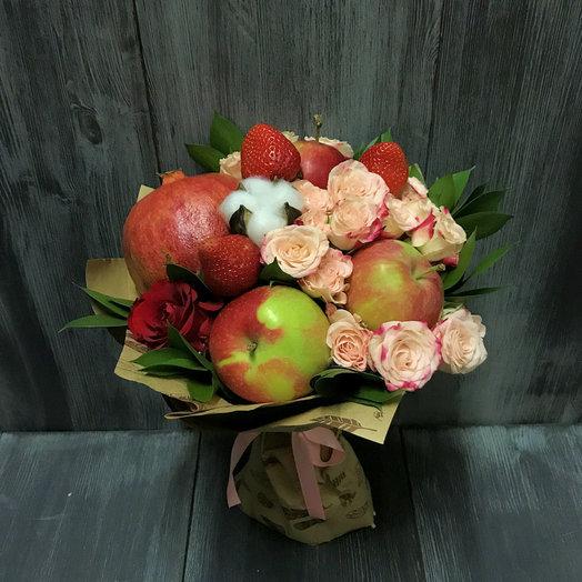 Наливное яблочко: букеты цветов на заказ Flowwow