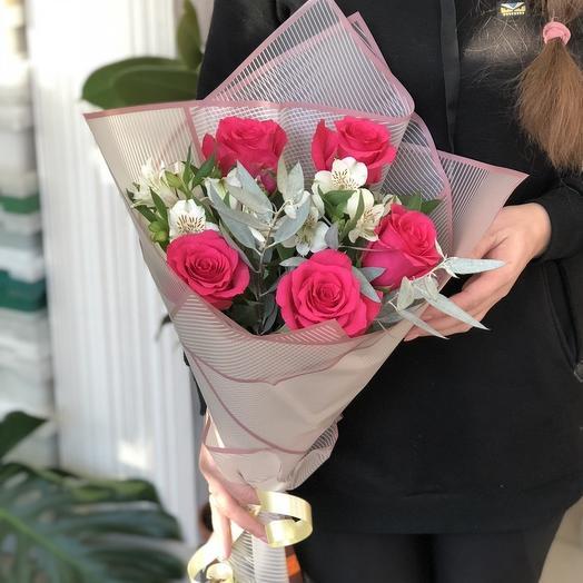 """Поздравительный букет""""Цветочный рай"""""""
