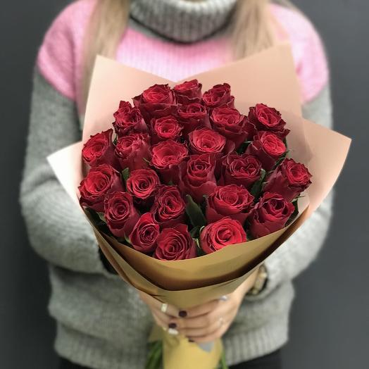 25 роз Родос: букеты цветов на заказ Flowwow