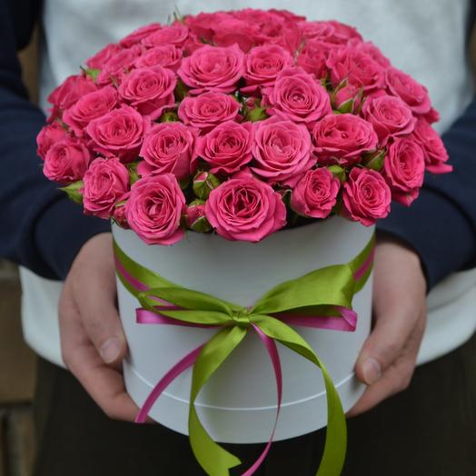 """Малиновое чудо"": букеты цветов на заказ Flowwow"