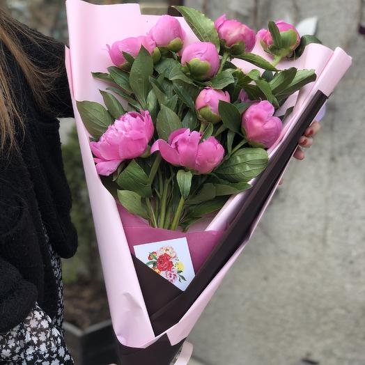 Ароматные пионы: букеты цветов на заказ Flowwow