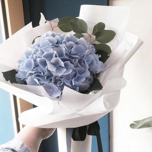Голубое облако: букеты цветов на заказ Flowwow