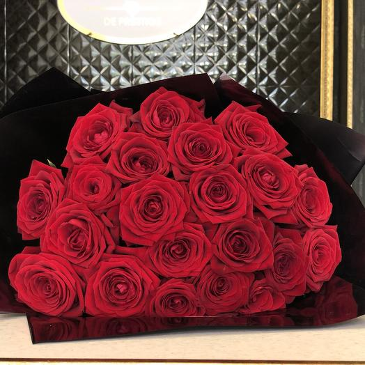 21 rose: flowers to order Flowwow