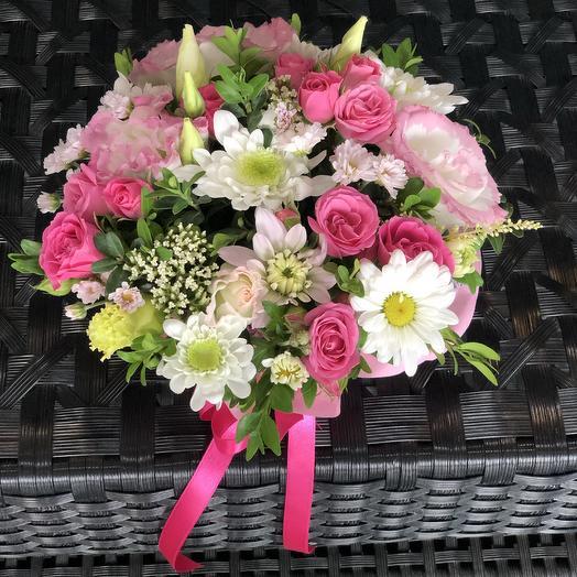 Летняя композиция: букеты цветов на заказ Flowwow
