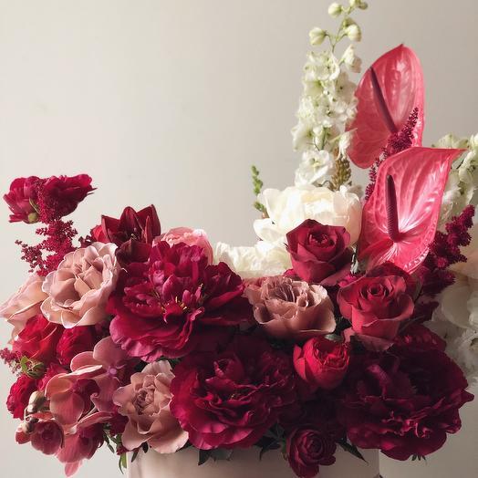 Винный букет: букеты цветов на заказ Flowwow