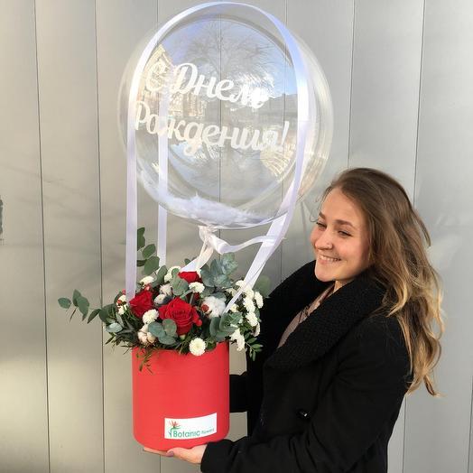 Воздушный поцелуй: букеты цветов на заказ Flowwow