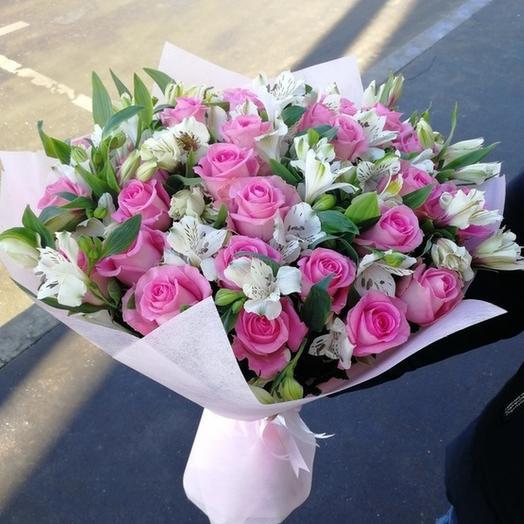 Счастье в любви: букеты цветов на заказ Flowwow