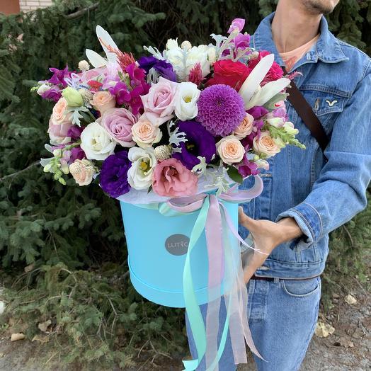 Шляпная Коробка: букеты цветов на заказ Flowwow