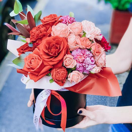 Насыщенная ночь: букеты цветов на заказ Flowwow