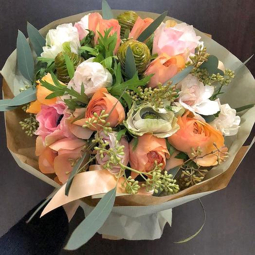 0004: букеты цветов на заказ Flowwow