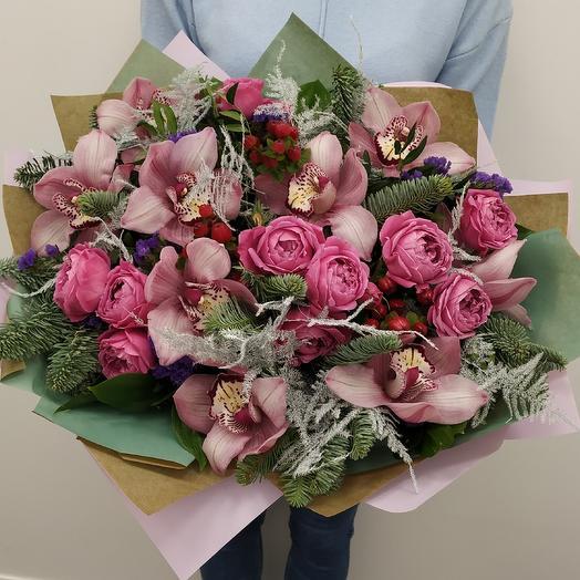 """Букет """"Очарование ночи"""": букеты цветов на заказ Flowwow"""