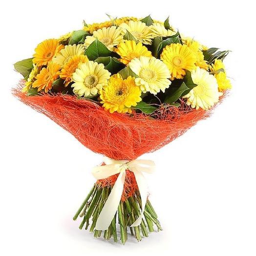 Лимонный сорбет: букеты цветов на заказ Flowwow