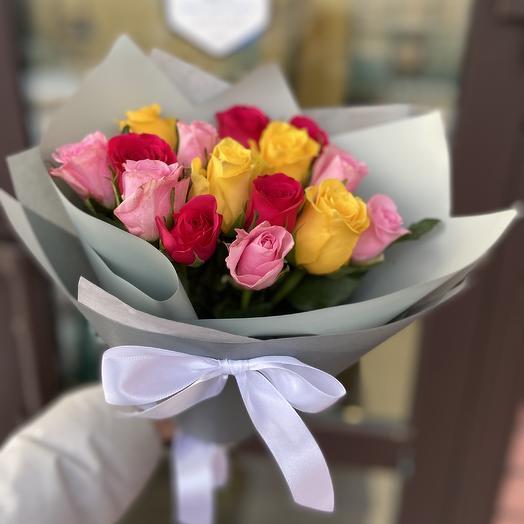 Микс из роз 💐: букеты цветов на заказ Flowwow