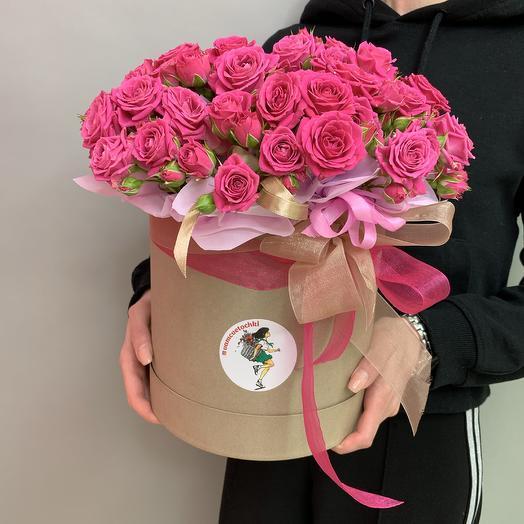 Коробка «Несгораемая страсть»: букеты цветов на заказ Flowwow
