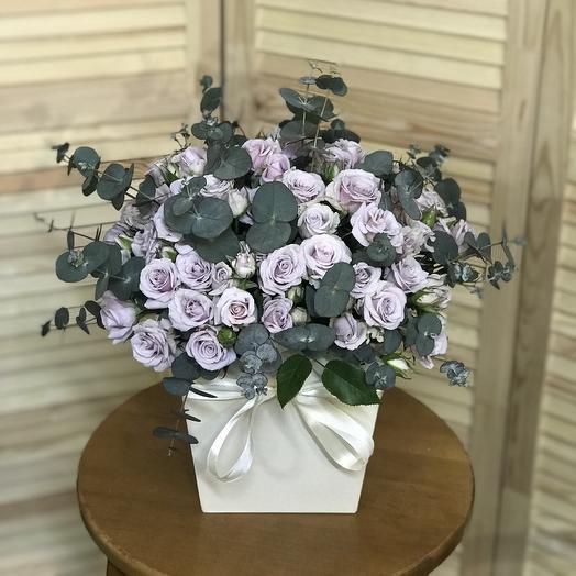 Коробка восторг: букеты цветов на заказ Flowwow