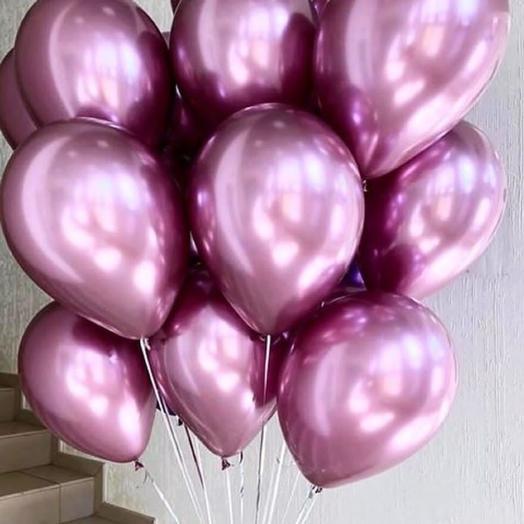 Набор из 15 хромированных шаров