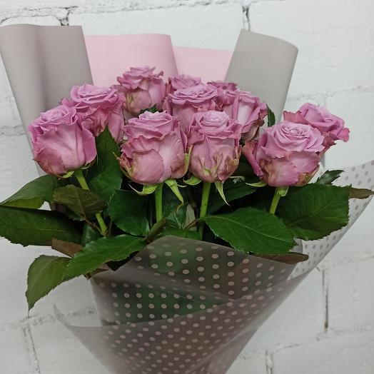 Букет 11 роз 60 см: букеты цветов на заказ Flowwow