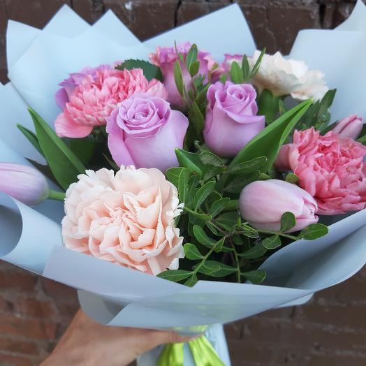 Нежные цвета: букеты цветов на заказ Flowwow